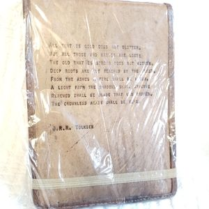 Leather J.R.R. Tolkien Notebook